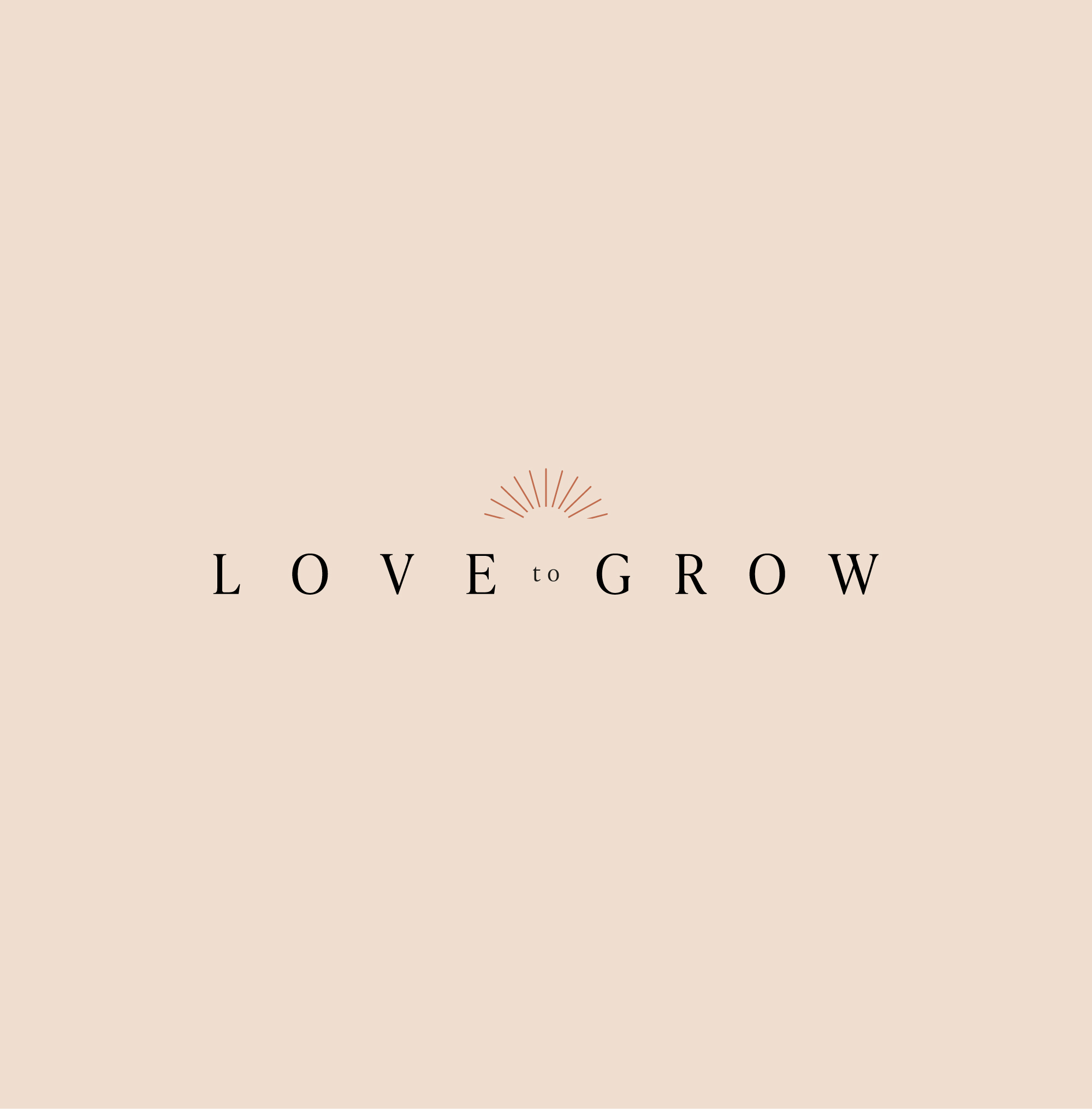 love to grow brand identity design by roos oosterbroek - draw studio